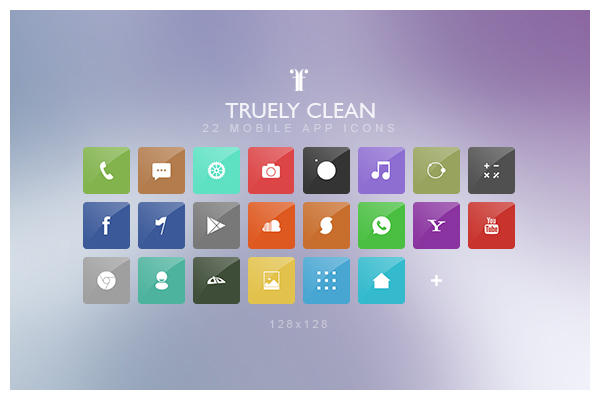 Truely Clean Icons - Icons - Fribly