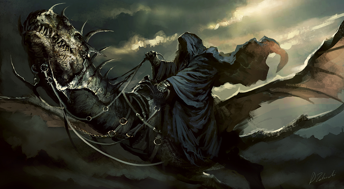 Nazgul - Digital Art - Fribly