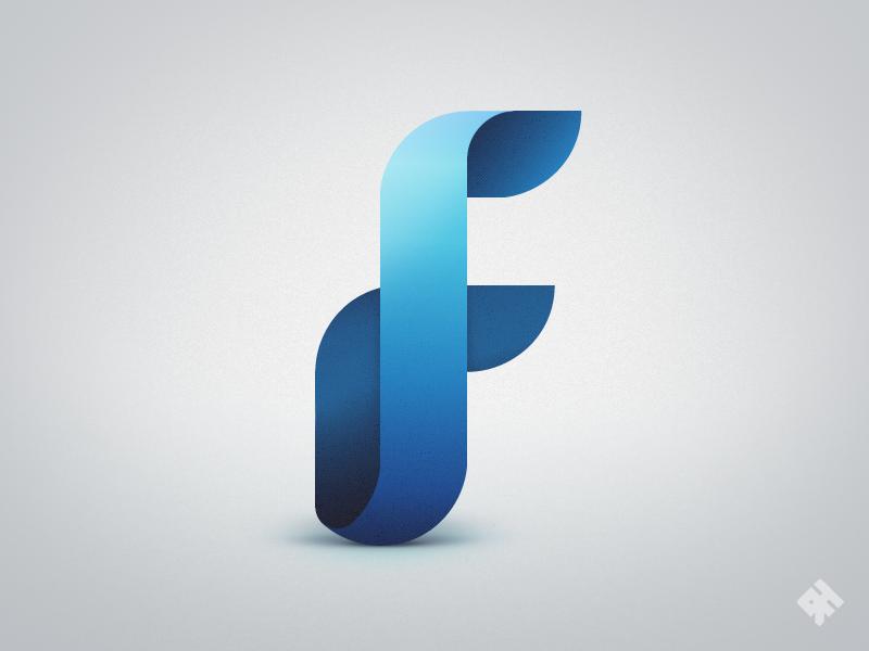 Finspreads Logo Logo Amp Identity Fribly