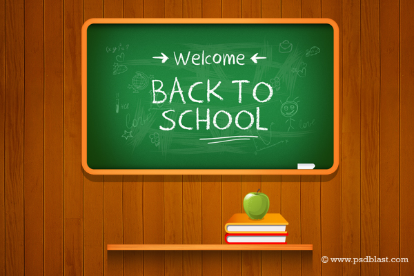 vector back to school background freebies fribly