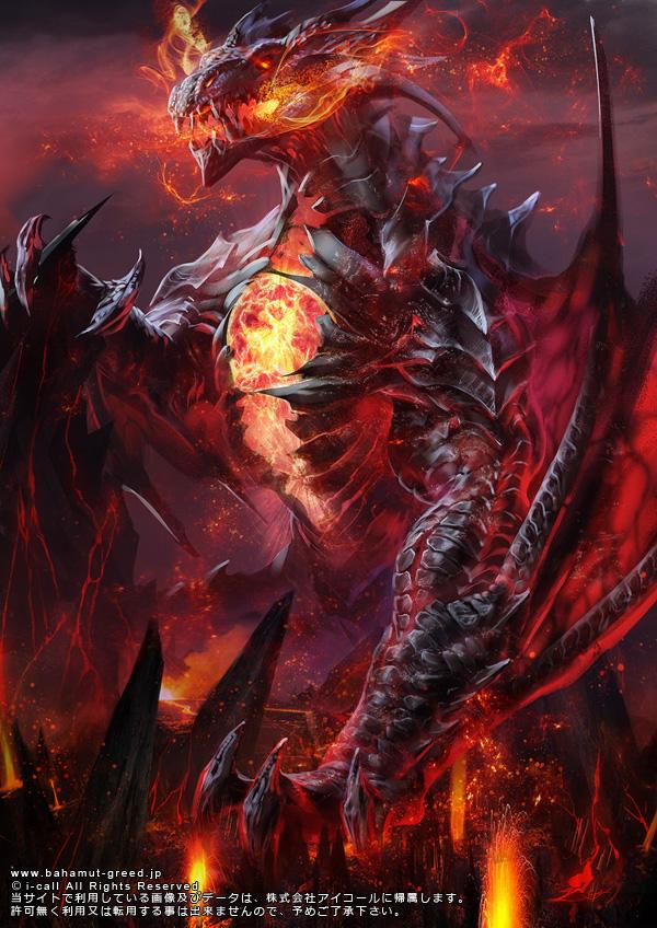 hell dragon - digital art