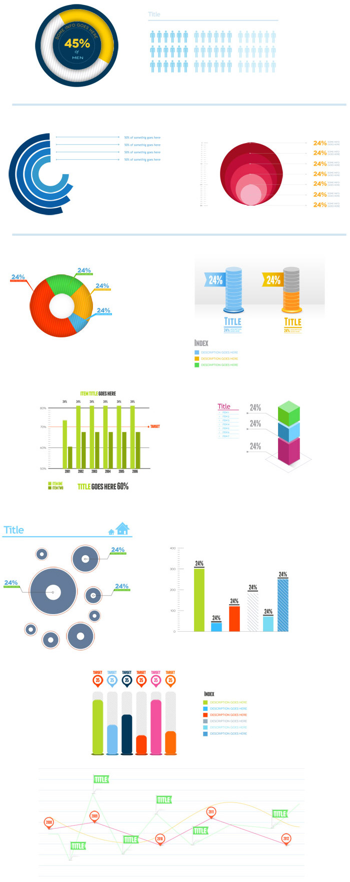 Download this corporate infographic psd template free