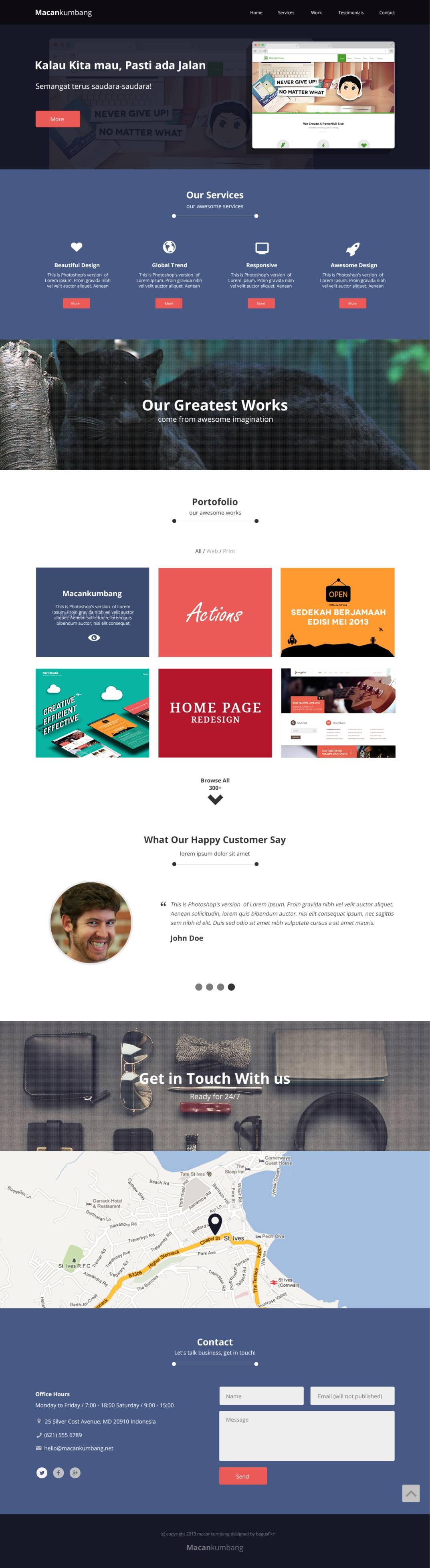 Emejing Design Home Page In Html Images - Decoration Design Ideas ...