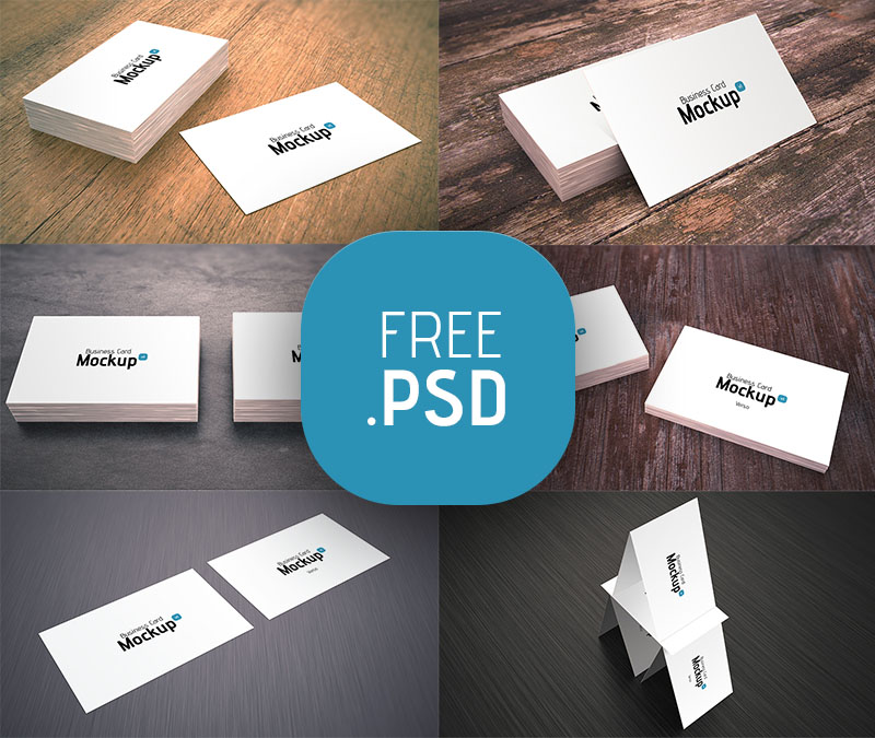 Business Card Mockup v1 - Freebies - Fribly