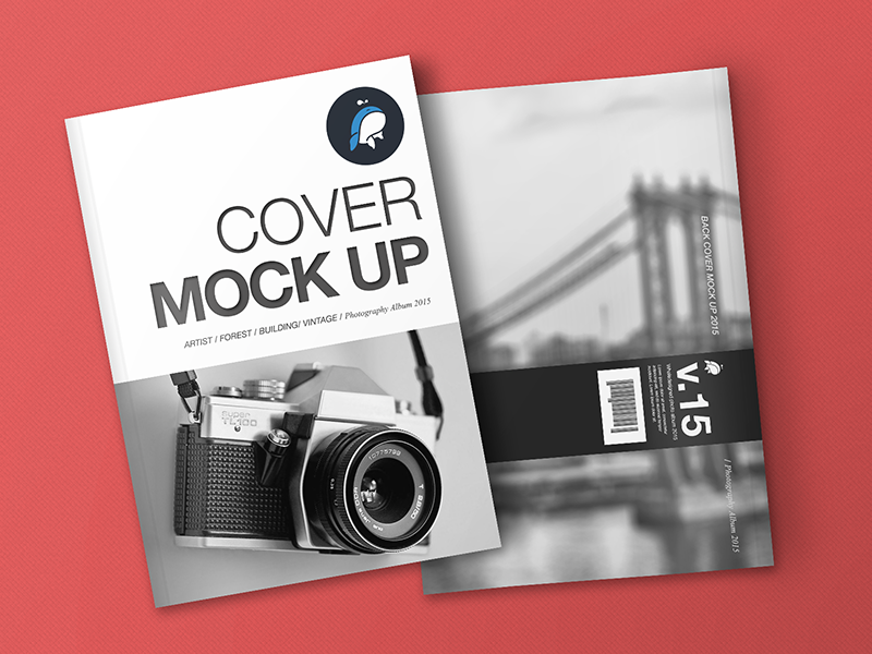 free magazine  u0026 cover mockup - freebies