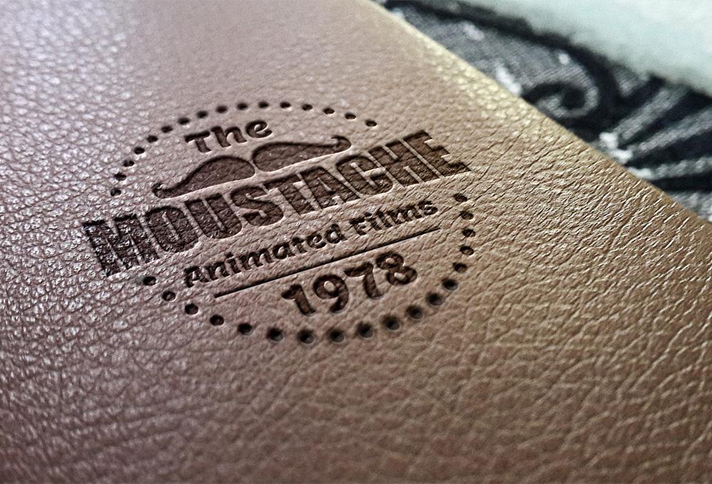 Leather Stamping Logo Mockup Freebies Fribly