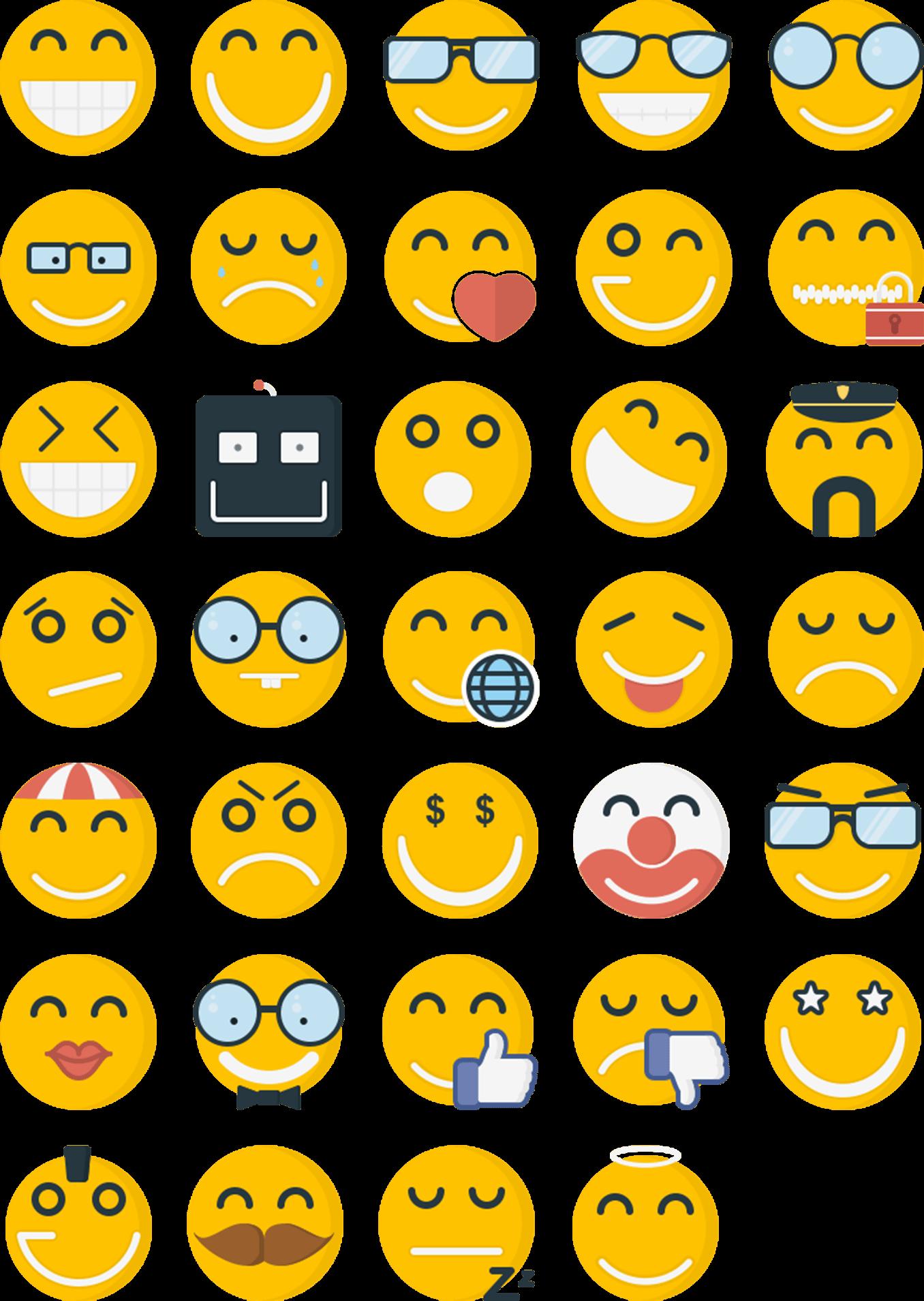Freebies Free Emoticon Flat Icons Icons Fribly