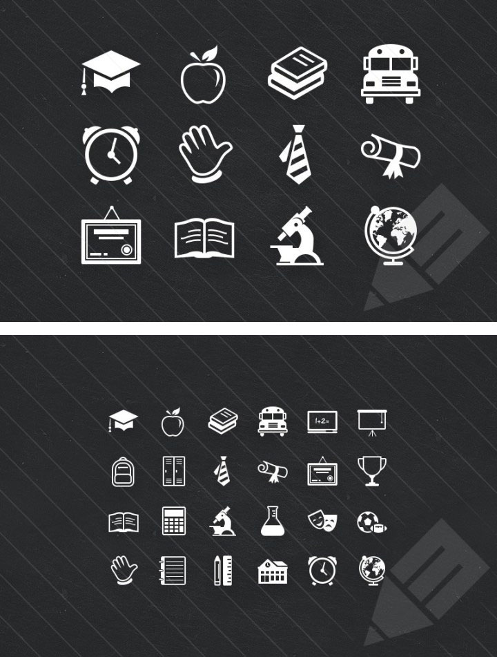 picture resume template educate icon set icons fribly 23995