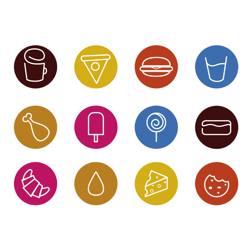 Free Sketched Food Icons - Icons - Fribly