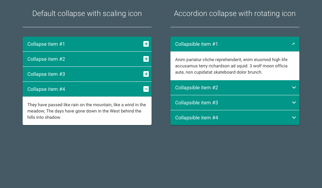 Material Design Bootstrap Accordion - Coding - Fribly