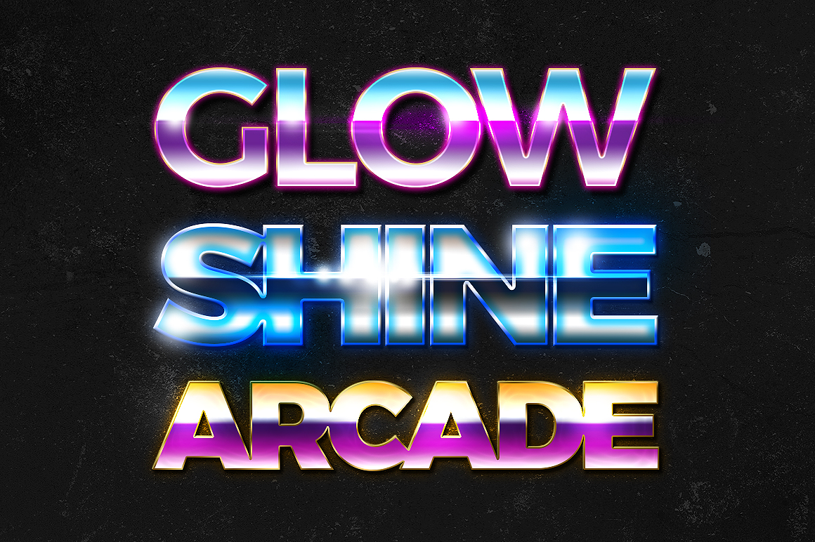 80s Free Text Styles Freebies Fribly
